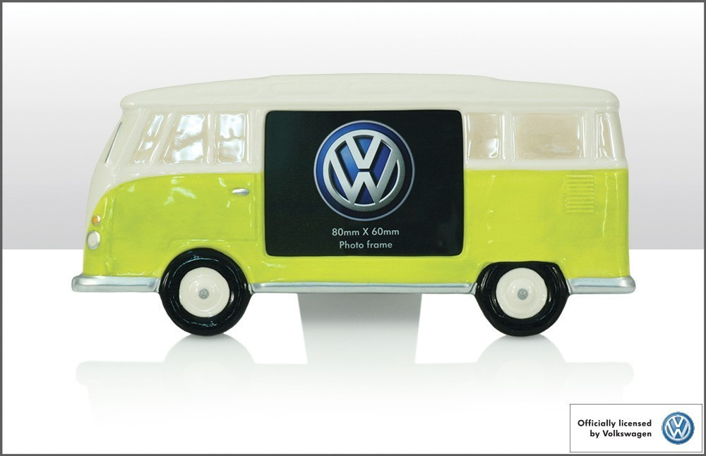 Bilderrahmen VW Camper Keramik Lemone - Der-SchnickSchnackShop.de ...